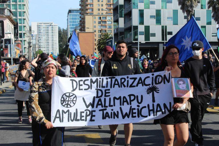 El pueblo mapuche sigue manteniendo sus históricas demandas, además de conmemorar el emblemático caso de Camilo Catrillanca.